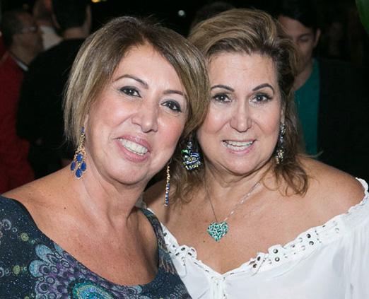 Angela Costa e Theresa Macedo