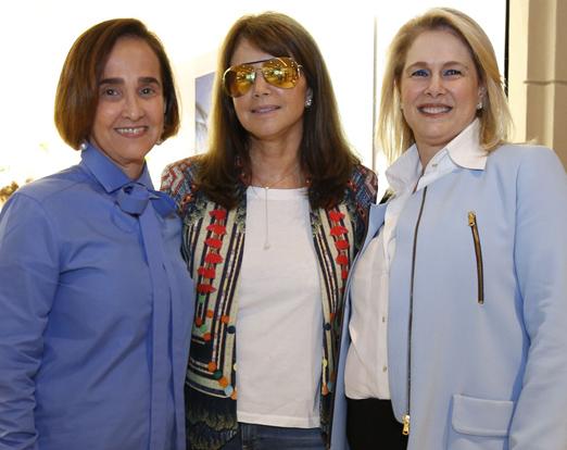 Bebel Niemeyer, Tania Bulhões e Glória Severiano Ribeiro