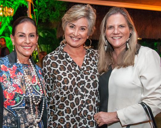 Beth Pinto Guimarães, Paula Almeida e Maninha Barbosa