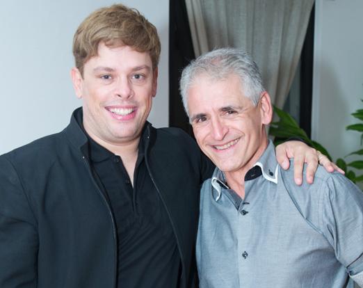 Bruno Chateaubriand e Roberto Cohen