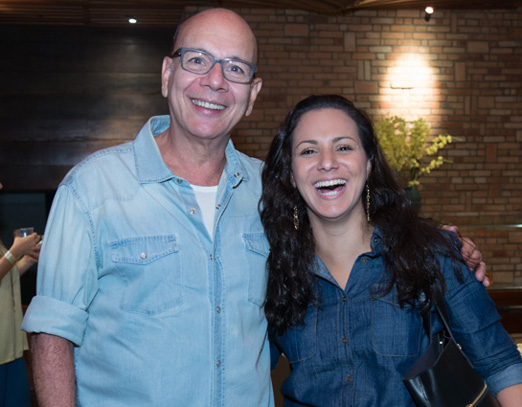 Caco Borges e Jeanny Machado