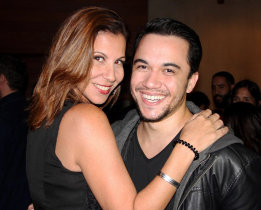 Carla Daniel e Vinicius Belo