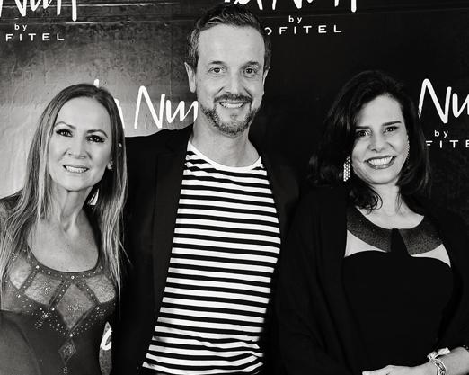 Carla Lubisco, Alexis de Vaulx e Narcisa Tamborindeguy