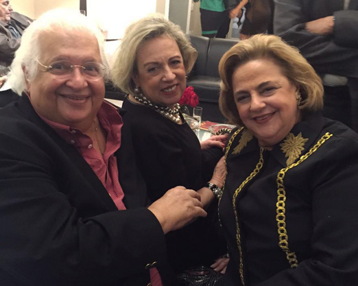 Carlos Alberto Serpa, Maria Cecília Moraes e Cristina Aboim