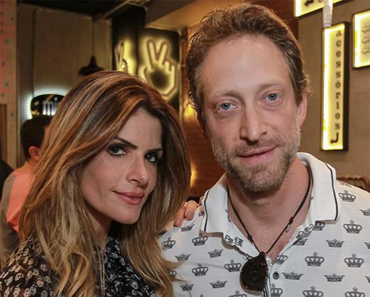 Carol Magalhães e Bruno Garfinkel