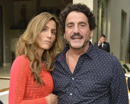 Carola Diniz e Luiz Gelpi