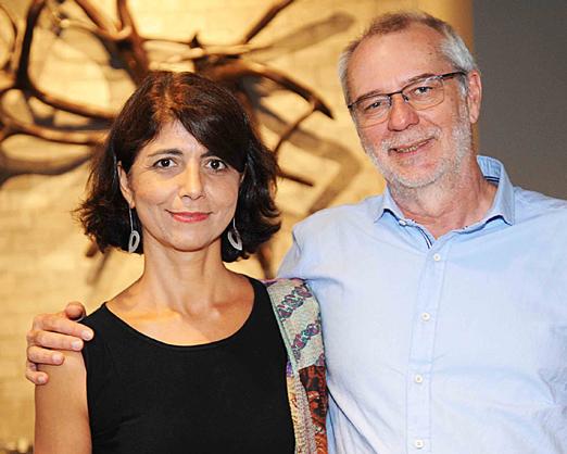 Claudia Grangeiro e Hugo França