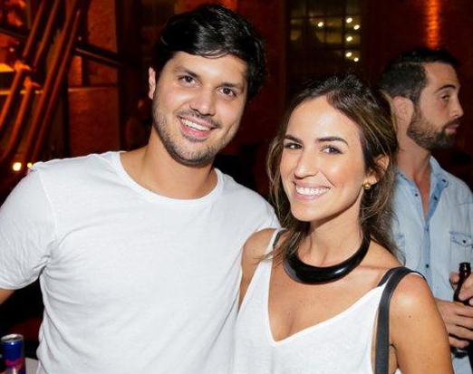 Conrado Denton e Fernanda Dore