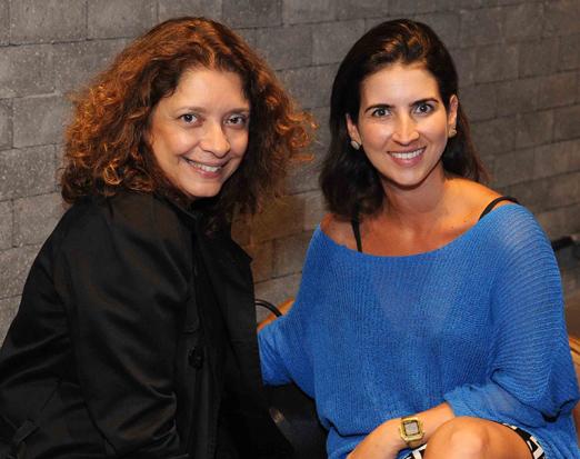 Cristina Alho e Amanda Abranches