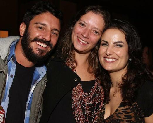 Daniel Macarrão, Talita Melcop e Ursula Corona