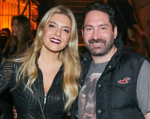 Daniela Cabrera e Fabio Rosochansky