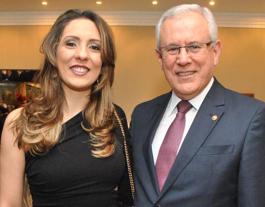 Daniela Lemos e Marfan Vieira