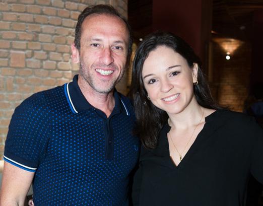 Denilson Machado e Nattalia Vinhas
