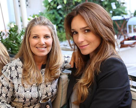 Denise Leão e Lilian Pieroni
