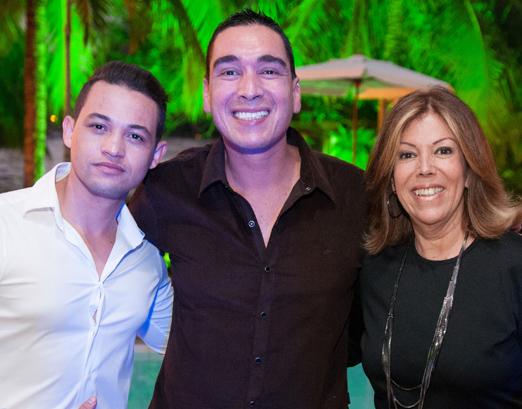 Fabio Amado Malheiro, Hugo Oliveira e Sylvia de Castro
