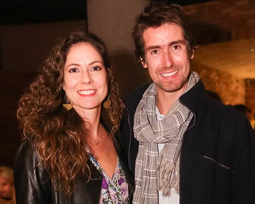 Fernanda Cortez e Chico Almendra