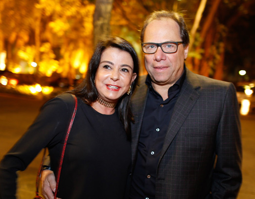 Gabriel e Maria Celia Cury