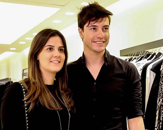Gabriela Bernardino e Bruno Saldanha