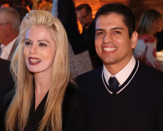 Giovanna Priolli e Rodrigo Raposo