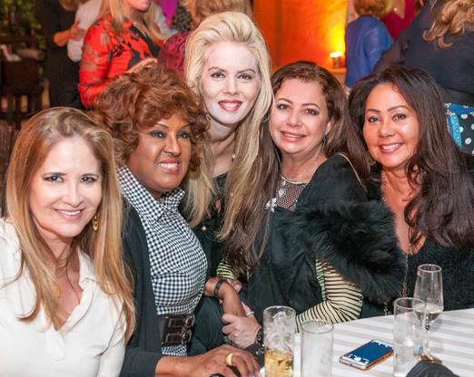 Gisela Markenson, Bete Suzano, Giovanna Priolli, Kristhel Byancco e Rosangela Oliveira