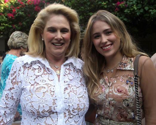 Glória Severiano Ribeiro e Anne Catherine Lips