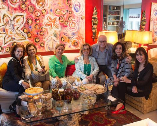 Ivone Szekacs, Roseana Motta Correa, Irina Tsouroutsoglou, Rachel Gusmão, Alberto Sabino, Vera Loyola e Ana Cecília Braga