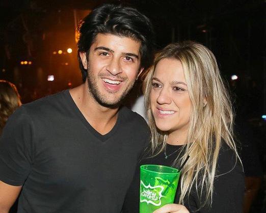 João Marcos Calfat e Juliana Barbeiro