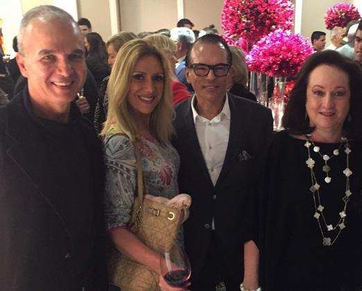 Jorge Delmas, Isabela Francisco, Heckel Verri e Beth Serpa