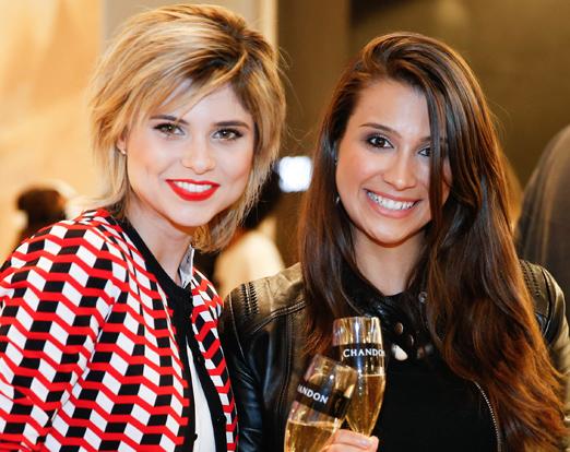 Julianne Trevisol e Sarah Maximo
