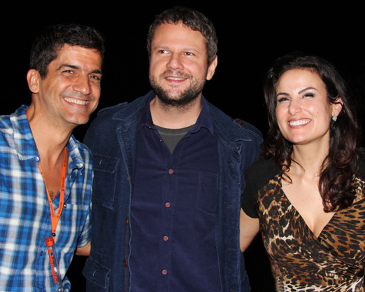 Julio Uchoa, Selton Mello e Ursula Corona