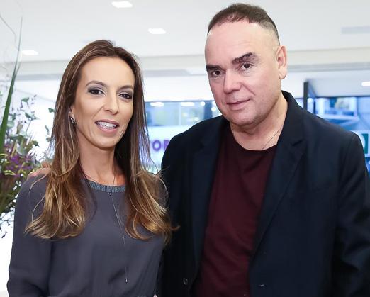 Karina Sterenberg e Reinaldo Lourenço