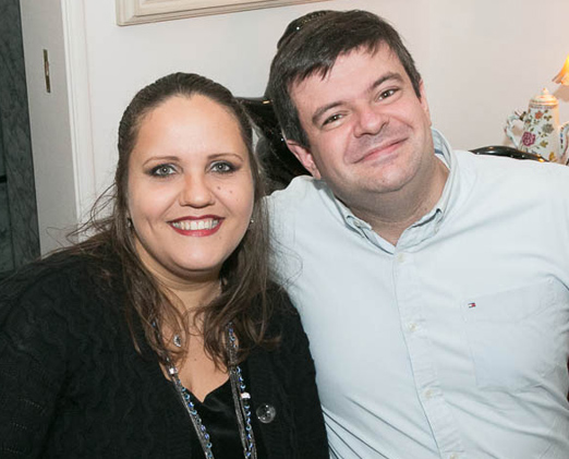 Luciana Nietvpski e Rafael Perszel