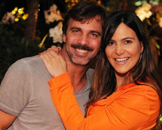 Marcelo Faria e Carol Sampaio