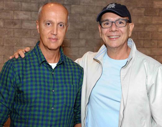 Marcelo Vasconcellos e Caco Borges