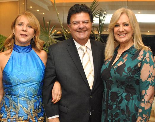 Marcia Afonso, Antonio Boente e Alda Soares