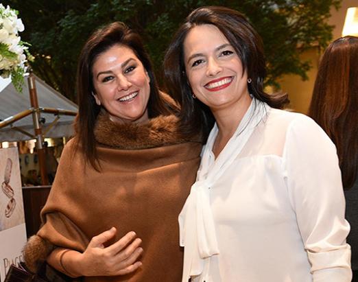 Maria Pia Trussardi e Janaina da Cunha