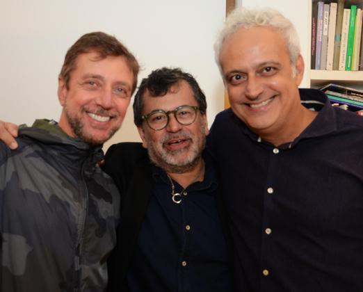 Nando Grabowsky, Gonçalo Ivo e Gustavo Rebello