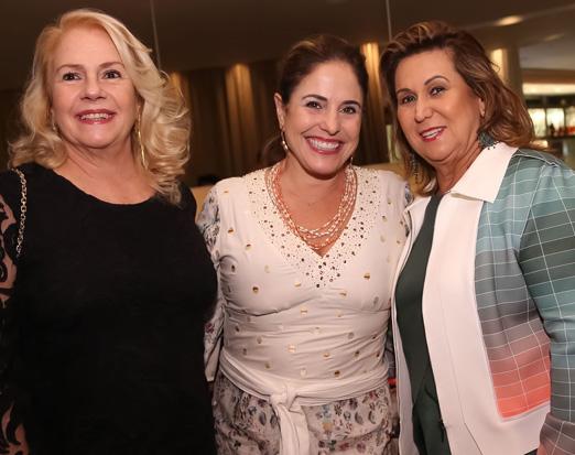 Olidia Carvalho, Raquel Meireles e Theresa Macedo