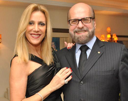 Os queridíssimos Luiz Felipe e Isabela Francisco