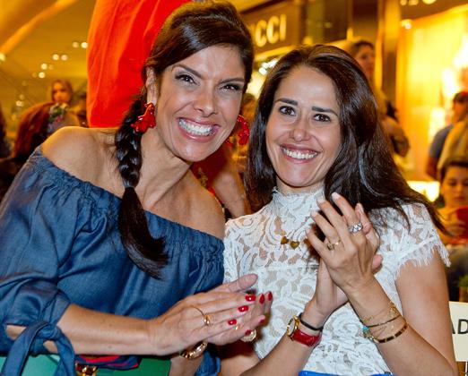 Patricia Brandão e Paula Severiano Ribeiro