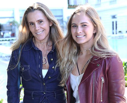 Priscila Szafir e Julia Bochner