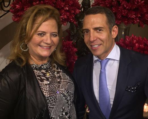 Renata Fraga e Leonardo Araújo