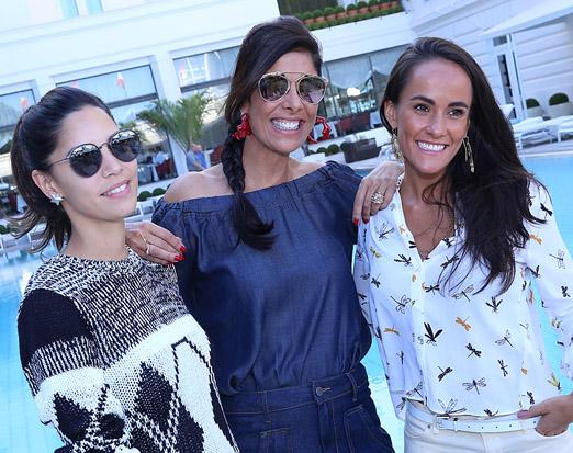 Renata Meirelles, Patricia Brandão e Francisca Pereira