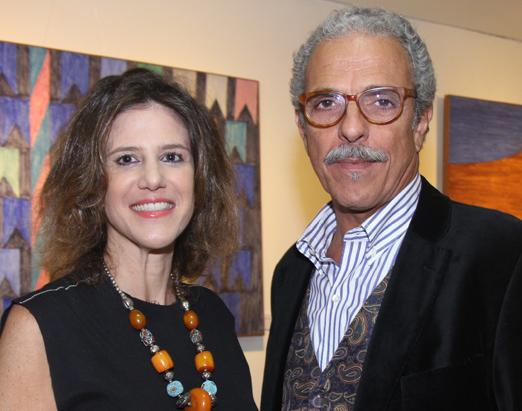 Roberta Gabriel e Roberto Rosa