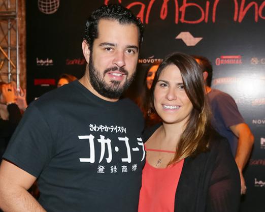 Rodrigo Carozzi e Vivian Hipólito