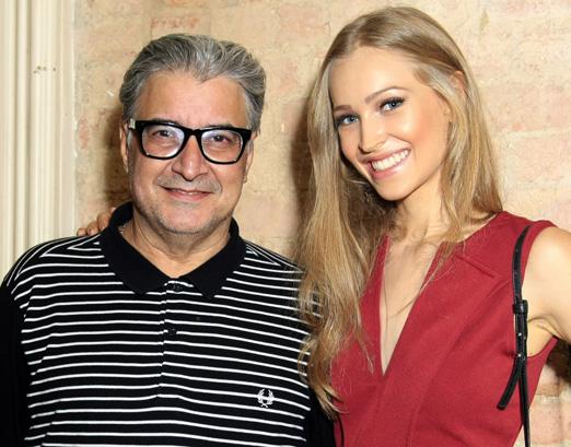 Sergio Mattos e Luiza Martinelli