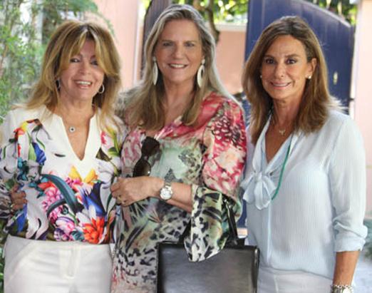 Sonia Simonsen, Maninha Barbosa e Gabriela Itagiba