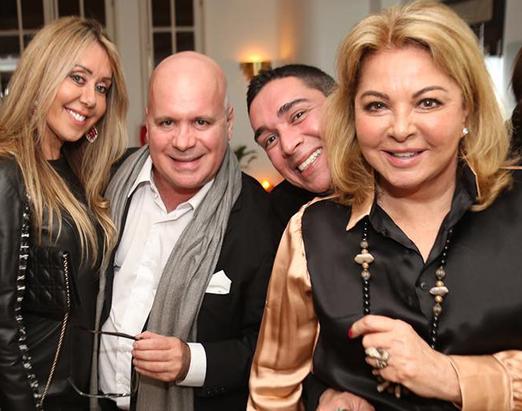 Tania Badin, Eder Meneghine, Hugo Oliveira e Vera Gimenez