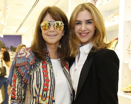 Tania Bulhões e Ana Paula Peres