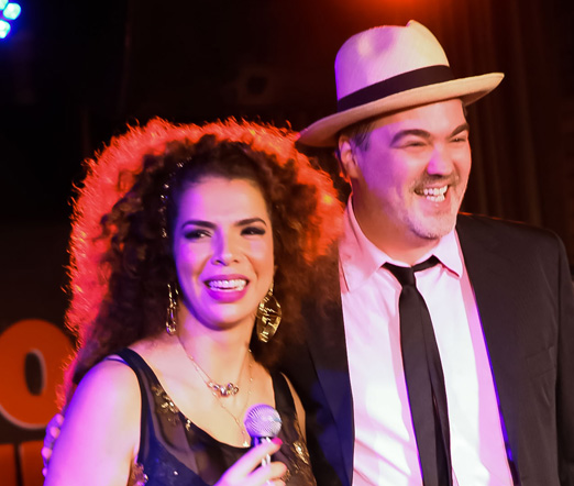 Vanessa da Mata e Daniel Jobim